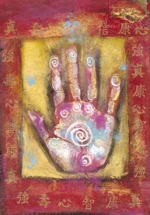 The healing hand of Helen Loshny at Spirit Medicine Healing